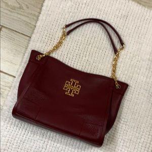 Tory Burch maroon bag